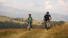 mountain biking in Bulgaria