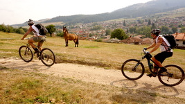 biking in koprivshtitsa bulgaria