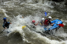 rafting on Struma rver, Bulgaria