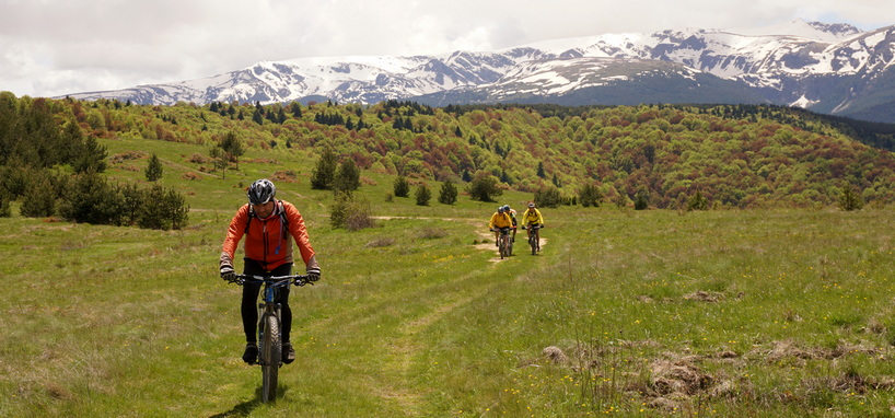 Mountain biking in Rila Mountain Bulgaria